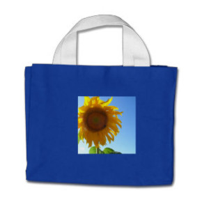 Sunflower Tiny Tote Bag
